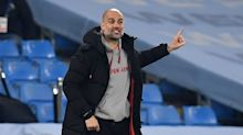 Pep looks at Manchester United, not title, after Man City wins 21st-straight