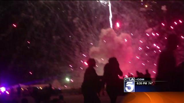Company in Simi Valley Fireworks Disaster Has History of Accidents