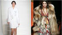 Los antes y después de las supermodelos en la pasarela
