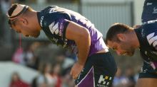 Storm late blitz blows away Dogs in NRL