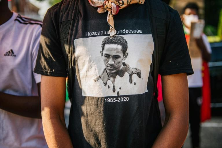 As far away as the United States, members of the Oromo community have protested the death of musician and activist Hachalu Hundessa
