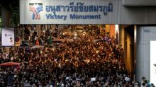 Thai PM backs down on protest ban, protesters say he must go