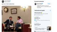 Izquierda y derecha cargan contra un alcalde socialista tras filtrar este una foto de Rivera e Iglesias