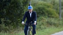 Boris Johnson doesn't regret bike ride as Number 10 says public should 'go for it'