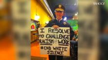 He'd do it again: Police chief behind controversial photo tells his story