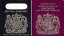 Brexit blue British passports 'will be made in Poland'