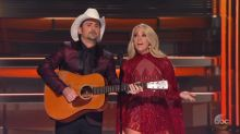 Carrie Underwood and Brad Paisley tease Trump with hilarious music parody