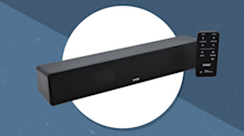 This excellent sound bar will make TV viewing a joy again—and it's 63 percent off