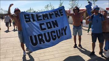 World Cup diary: Uruguay make themselves heard