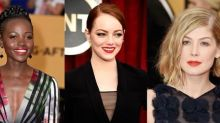 Red Lips Hit the Red Carpet at the 2015 SAG Awards