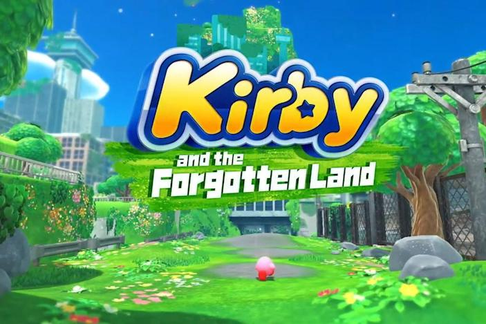'Kirby and the Forgotten Land' heads to Nintendo Switch in spring 2022
