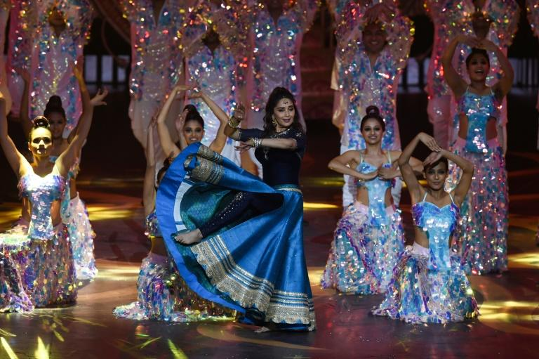 The International Indian Film Academy (IIFA) awards went on into the early hours of Thursday (AFP Photo/INDRANIL MUKHERJEE )