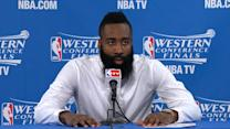 James Harden on game-losing turnover