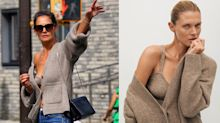 Loved Katie Holmes's infamous $2,960 sweater set? You can now shop a similar look at a fraction of the price