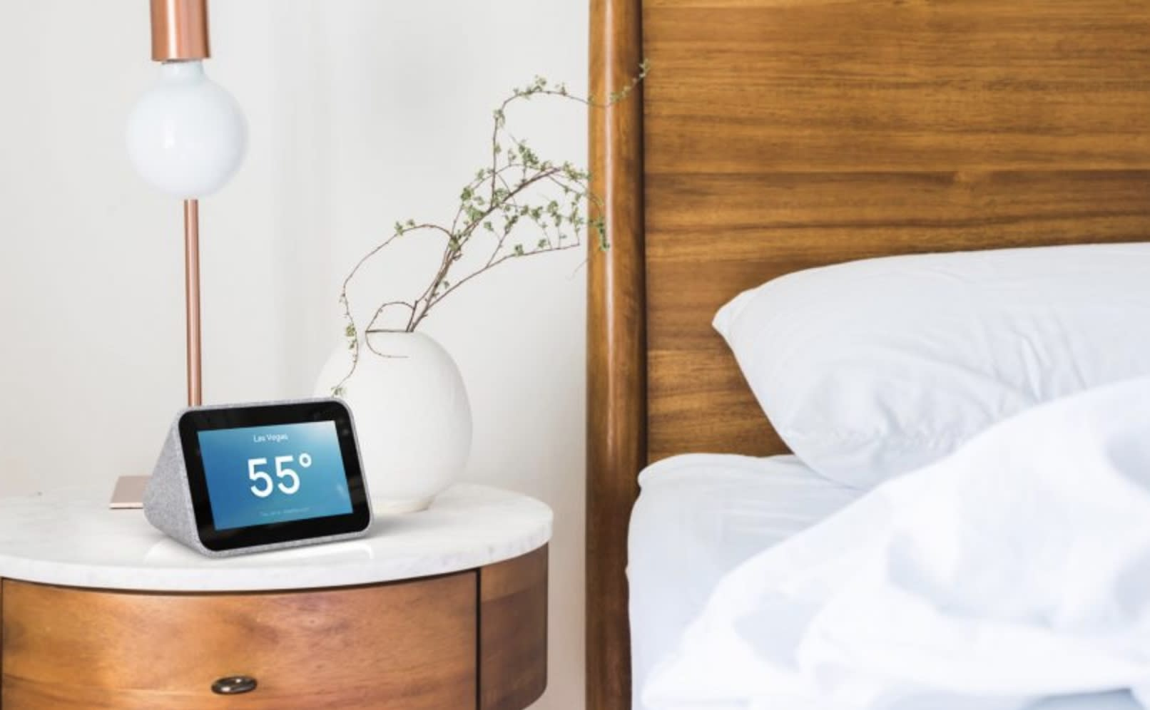 Lenovo's and Google's Smart Alarm Clock might make you hate mornings less
