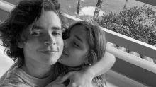 Sasha Meneghel comemora um ano de namoro com João Figueiredo