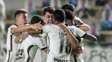 Avelar marca no fim e Corinthians arranca vitória diante do Goiás