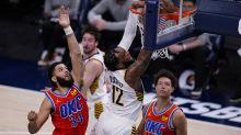 Pacers' small ball comes up big in 122-116 win over Thunder