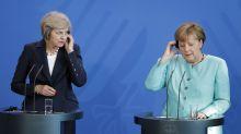 Angela Merkel 'mocked Theresa May for her Brexit demands' during secret briefing