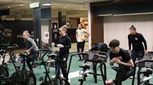 U.S. Olympic hopefuls train for Tokyo inside abandoned Macy's