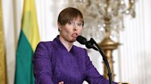Estonia's president says Trump gets it about Russia