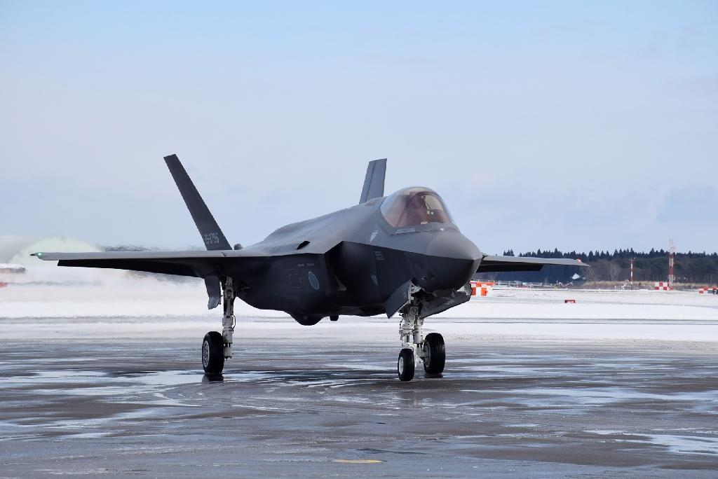The F35-A is a state of the art stealth plane