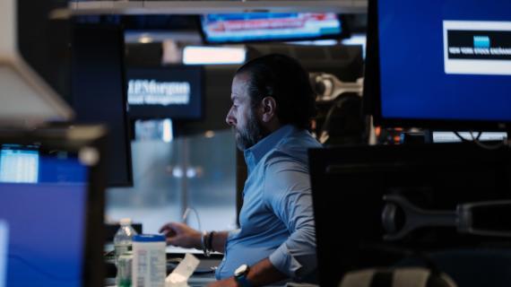 Stocks trade mixed, S&P 500 sets record intraday high