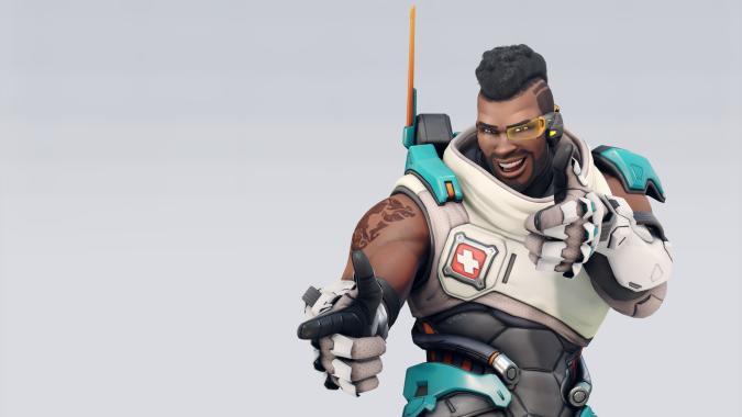 Baptiste's Overwatch 2 redesign