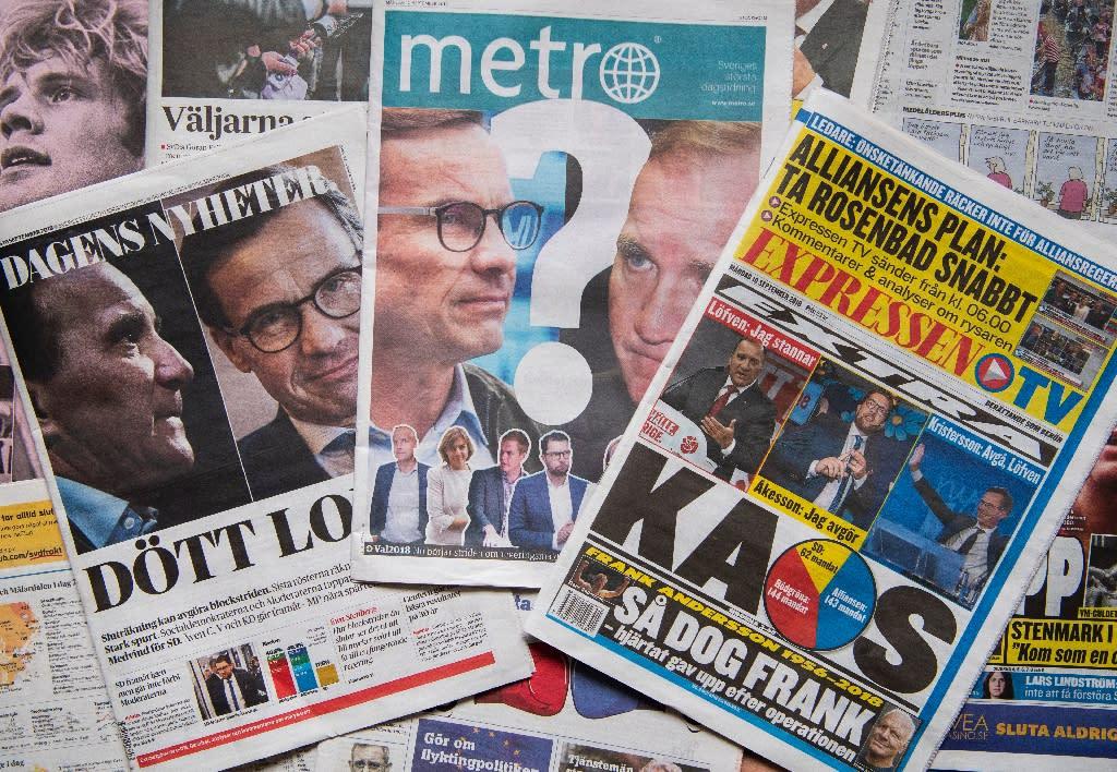 Markets prefer domestic deadlock in Sweden to a Swexit
