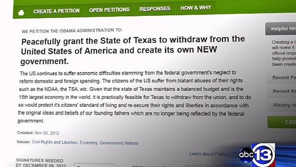 What would it mean for Texas to secede?