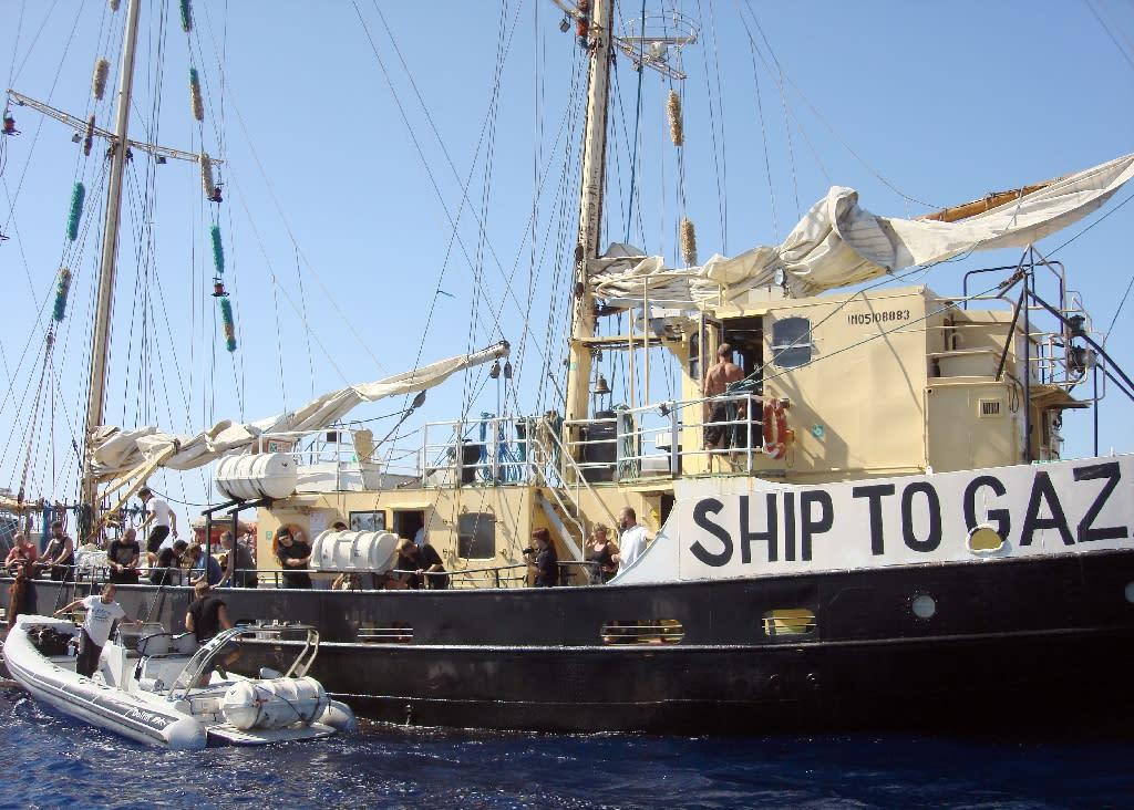 Ship to Gaza's Estelle voyage was one of several unsuccessful attempts to breach Gaza blockade