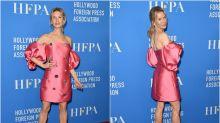 Renée Zellweger vuelve a la alfombra roja: los looks del evento de la HFPA