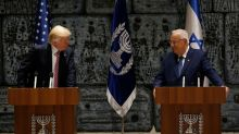 Trump meets with Israeli President