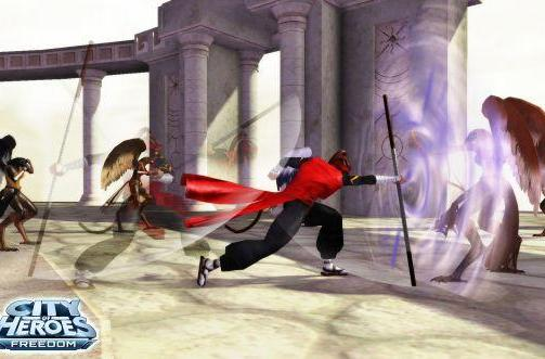 Walk softly and carry a big stick with City of Heroes' new Staff Fighting powerset