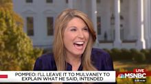 Nicolle Wallace Can't Stop Laughing At 'Flop Sweat' Pompeo's TV Disaster