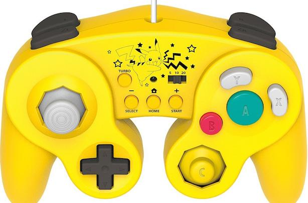 Pikachu gets its own Hori Battle Pad for Wii U controller in Japan
