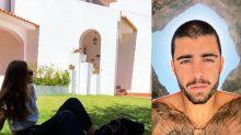 """Pedro Scooby recebe Cintia e exibe casa em Portugal: """"Lar doce lar"""""""