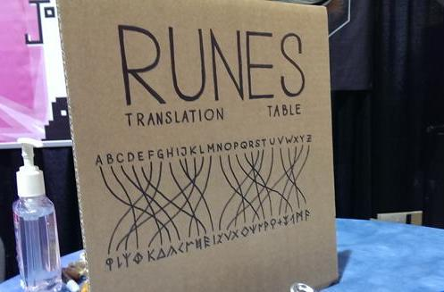 Seen@PAX Prime: Secrets of Rætikon's Rune Translation 101