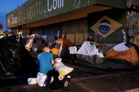 Image result for Brazil border town residents drive out Venezuelan immigrants
