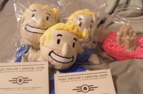 Joyswag: Fallout 3 Survival Guide and Vault Boy puppets