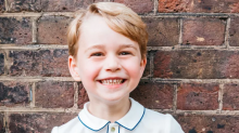Prince George's Fifth Birthday Portrait Is Here and He Looks Adorable