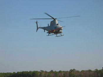 FireScout robot deathcopter passes engine testing