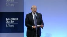 GOLDMAN CEO: The opportunities for young people are better today