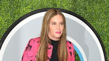 Caitlyn Jenner matched her lipstick to her jacket