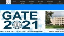 GATE 2021: New exam pattern and list of exam centres added