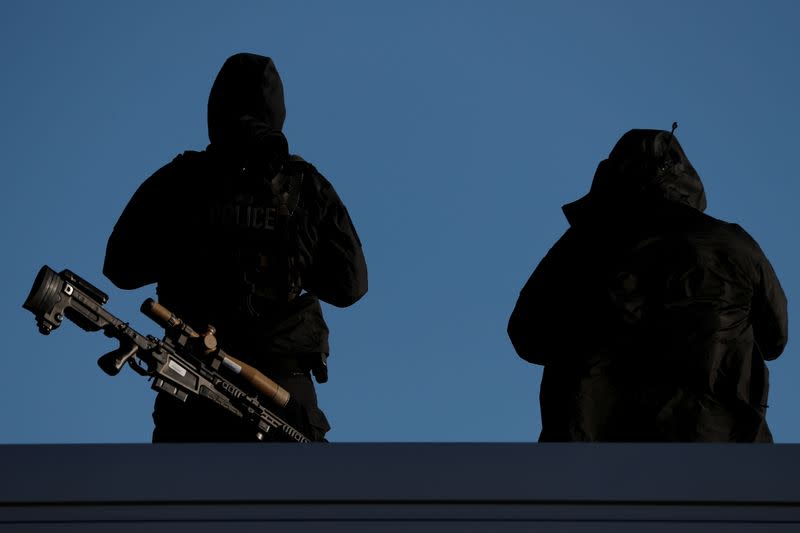 U.S. Secret Service officers sidelined by COVID-19