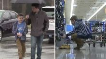 YouTube video convinces boy, 9, to carry out heartwarming act