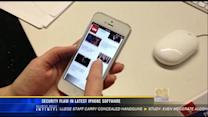 Security flaw in latest iPhone update