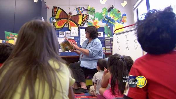 Big push for pre-kindergarten students at Fresno Unified