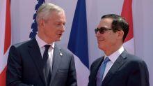 G7 tem consenso sobre moeda do Facebook mas diverge sobre cobrança de taxas para empresas de internet